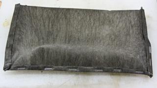 Silica gel in landscape cloth bag