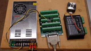 24 VDC power supply - Mesa 7i76 - stepper driver