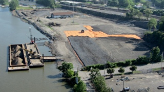 Poughkeepsie waterfront brownfield reclamation - overview