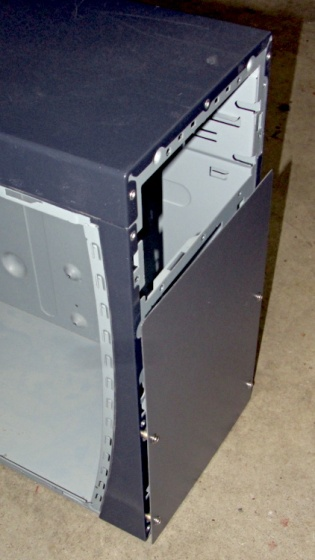 Dell PC case - vent panel
