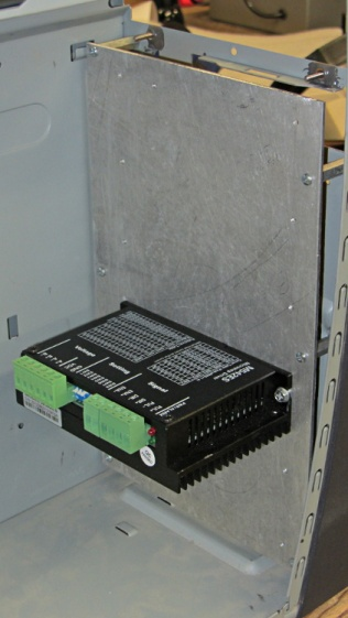 Dell PC case - stepper drive panel