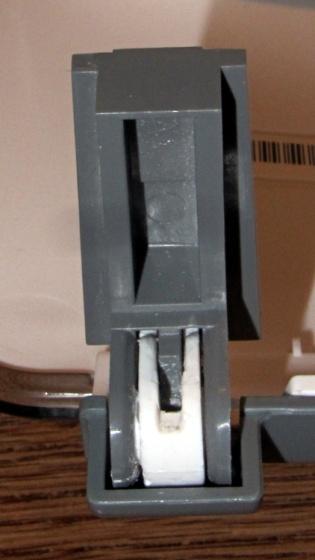 HP 3970 Scanjet - glued hinge