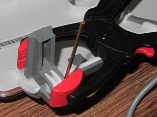 HP 3970 Scanjet - hinge clamping