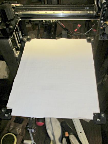 HBP insulation - cotton sheet