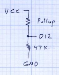 Pullup Voltage Divider