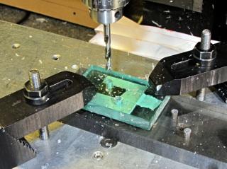 Corner Clip Fixture - drilling
