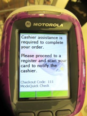 Stop-and-Shop - scanner code 111