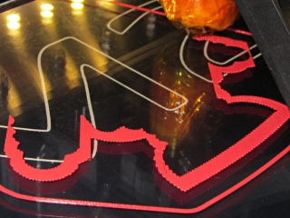 Robot cookie cutter - printing first layer