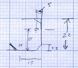 M2 Platform Support Spider Pad Dimensions
