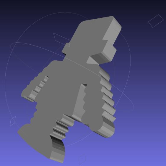 Afinia Robot - shape slab