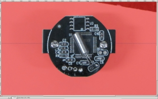 Camera PCB - quick mask cleanup - scaled