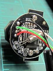 Fashion USB camera - wired PCB rear