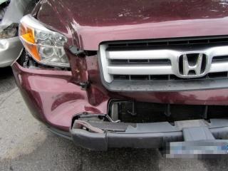 Deer crash damage - overview