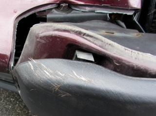 Deer crash damage - hair detail