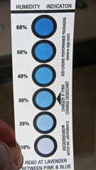 Humidity Indicator card - 10 percent