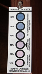 Humidity Indicator card - 50 percent