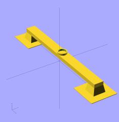 Bridge Torture Test - solid model