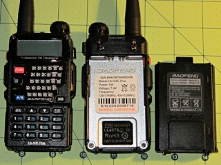 Baofeng UV-5RE radio - overview