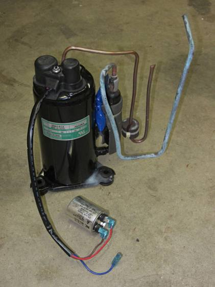 Harvested Dehumidifier Compressor