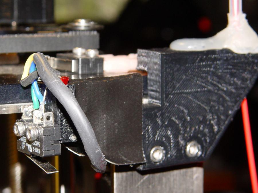 M2 - Z-min switch at rear X gantry