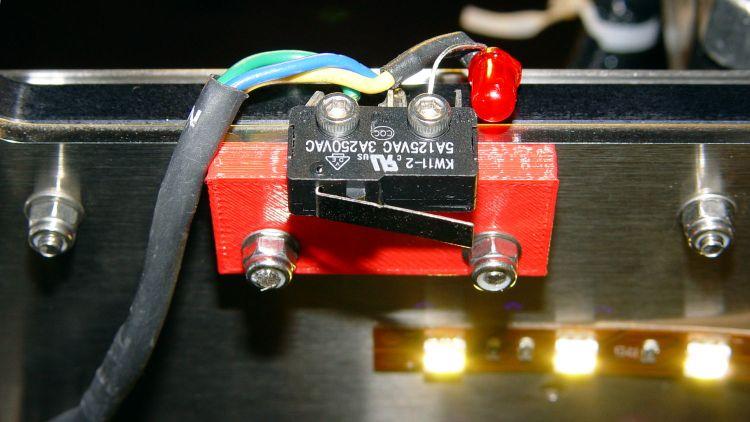 M2 Z-min switch - left gantry