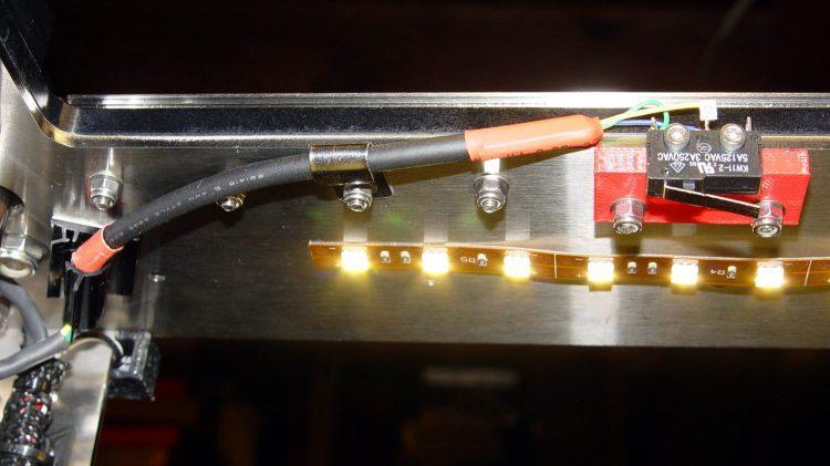 M2 Z-min switch - center gantry - bottom view