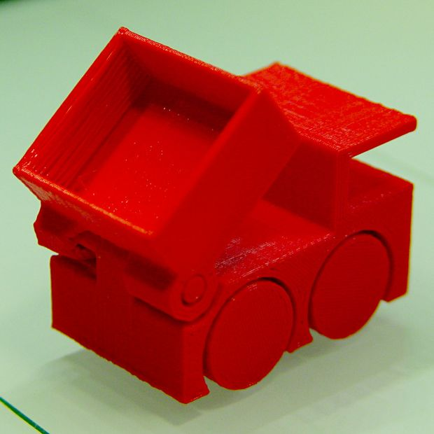 M2 Tiny Toy Dump Truck test piece