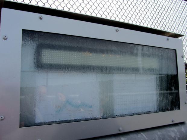 HRECOS Display with internal condensation