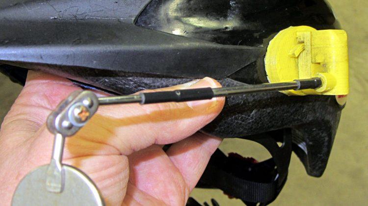 Bike helmet mirror mount - two years
