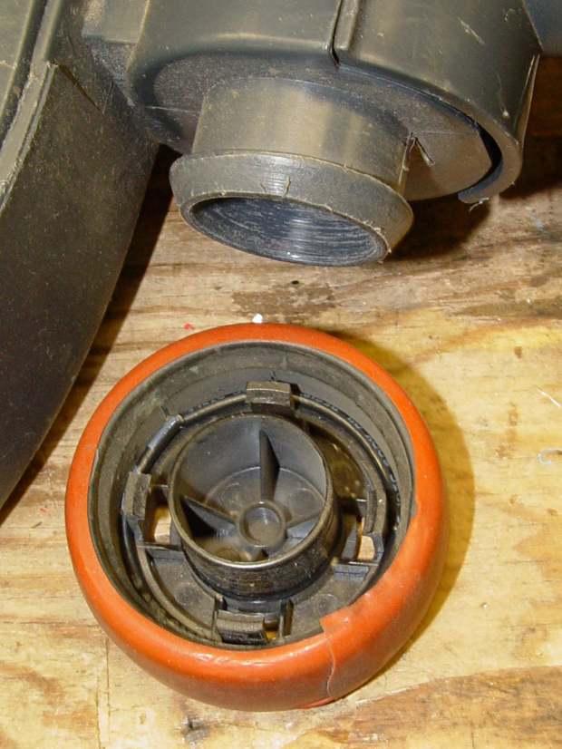 Samsung Quiet Jet - floor brush wheel interior