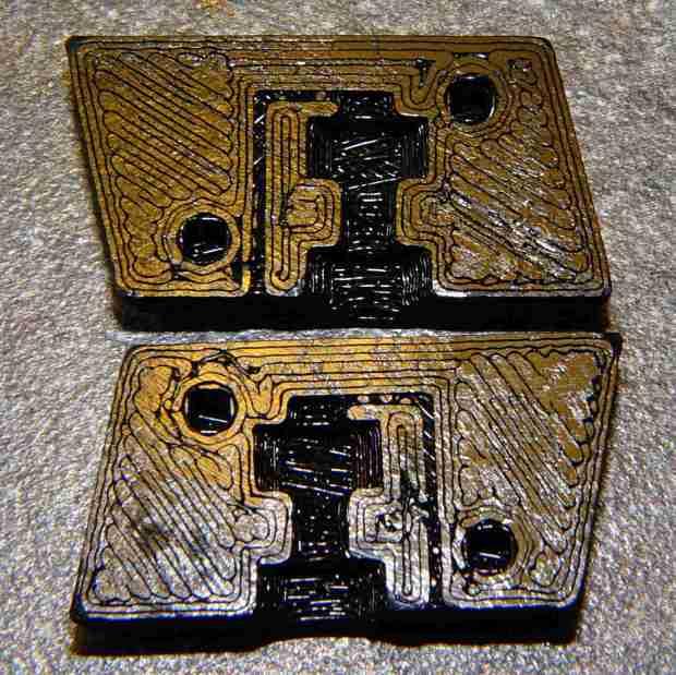 BHP magazine block - prototype nut trap - bare