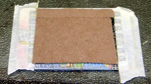 Samsung vacuum floor strips - gluing