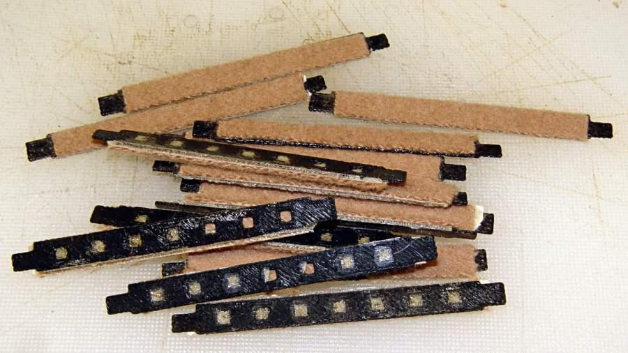 Samsung floor brushes - glued