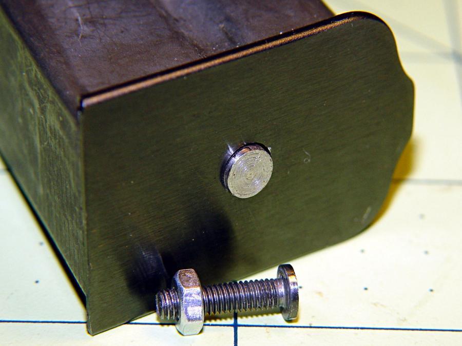 BHP floor plate screw - disk head