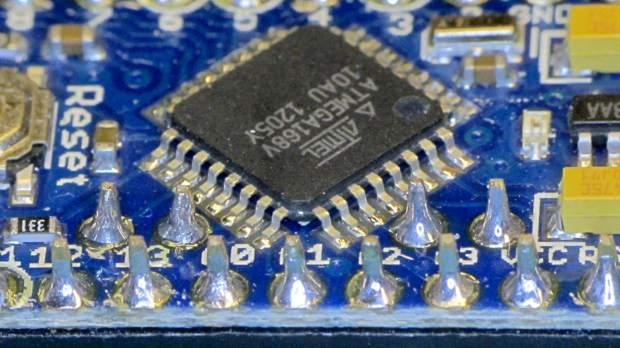 Arduino Pro Mini clone - chip overview
