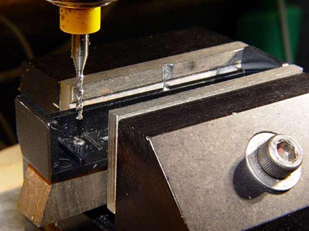 Optiplex 980 PCI Clamp Cover - drilling
