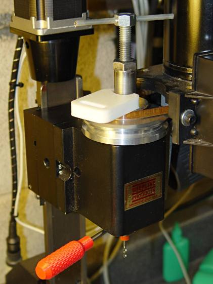 Sherline CNC mill - tommy bar and collet pusher