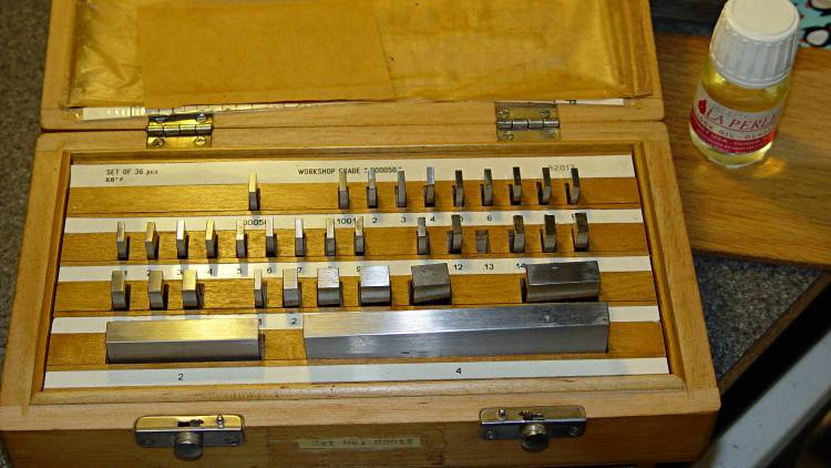 Gauge block set