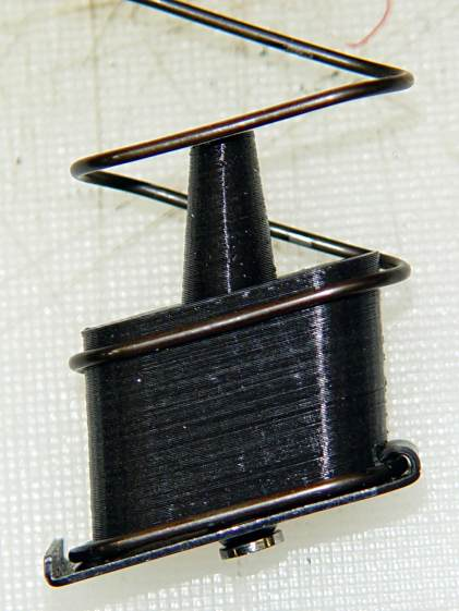 Browning Hi-Power magazine - block detail
