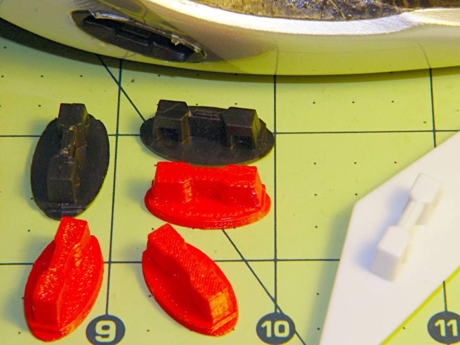 Bell Helmet Visor Mount - OEM vs 3D Printed