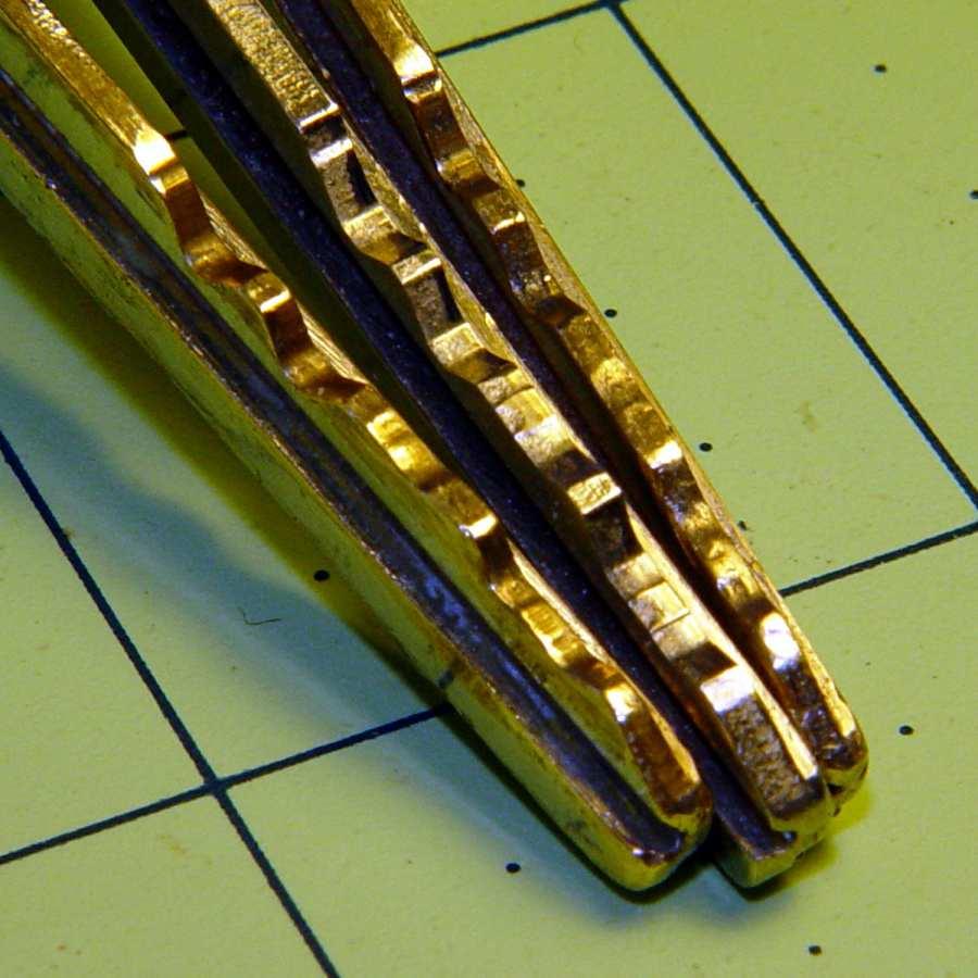 Ignition keys - worn vs new