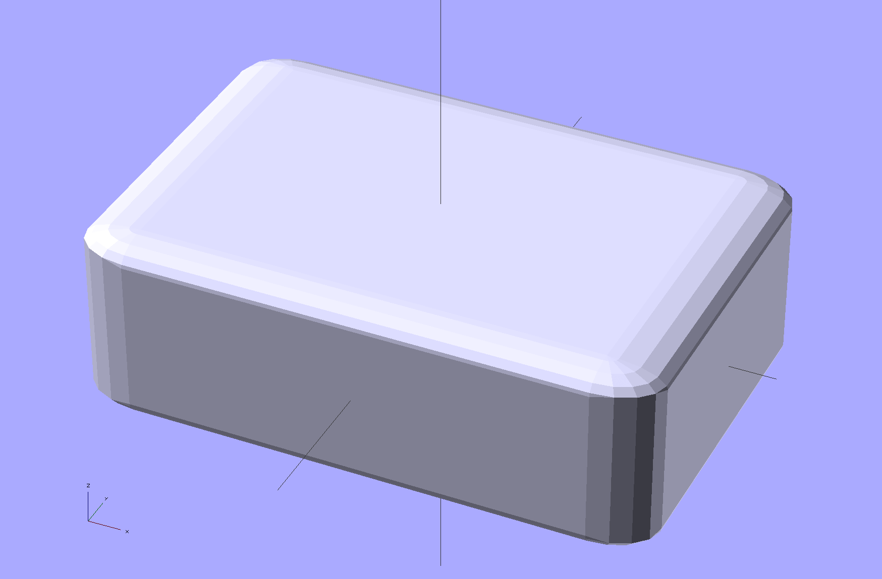 Rounded Rectangles in OpenSCAD: Mold Positives? | The Smell