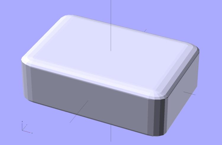 Basic Rounded Cube