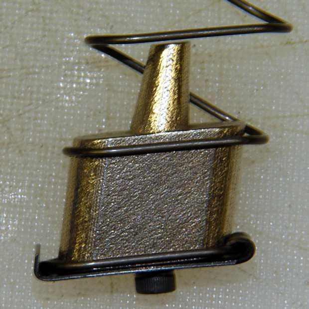 Browning Hi-Power magazine - steel block trial fit