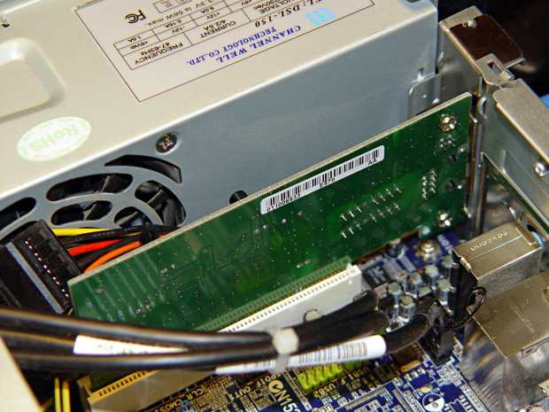 NIC added to Foxconn D510 PC