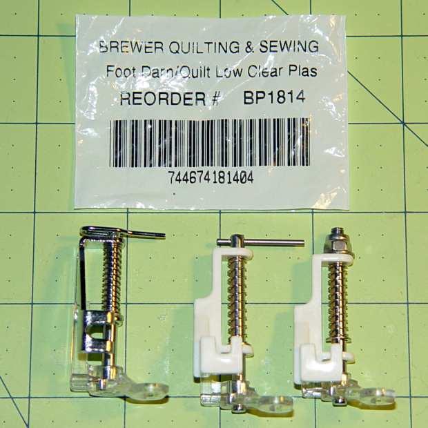 Brewer BP1814 Quilting Foot - assortment