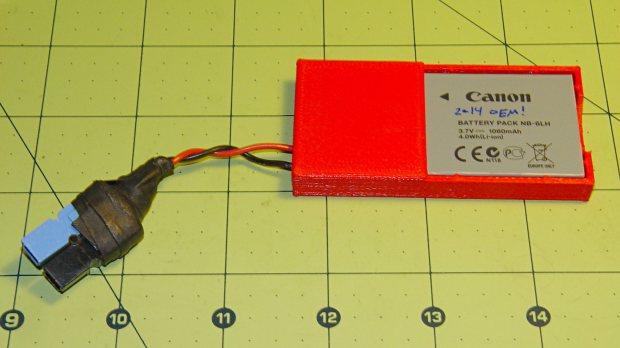 Canon NB-6L battery holder