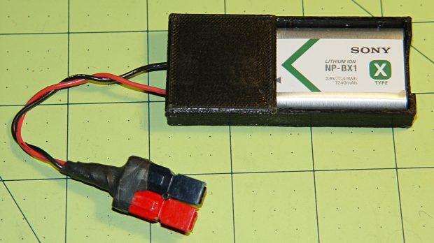 Sony NP-BX1 battery holder