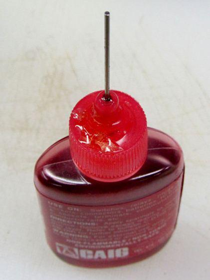 Caig DeoxIT bottle - lid crack repair