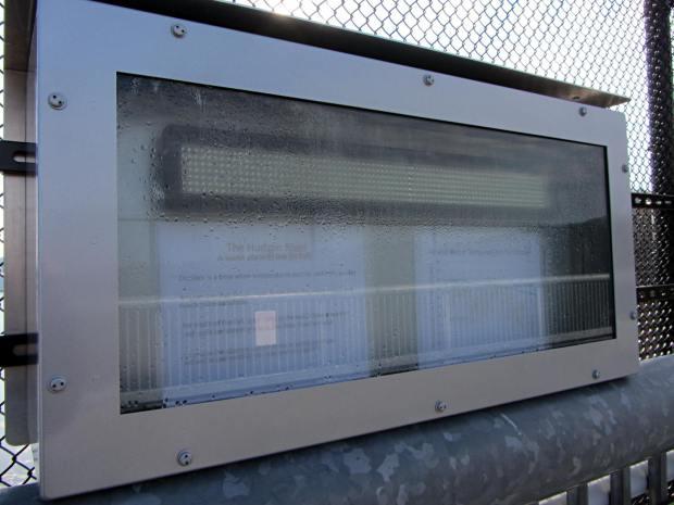 HRECOS display - condensation
